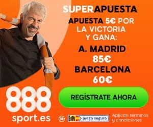 Supercuotas 888sport Atlético de Madrid - FC Barcelona
