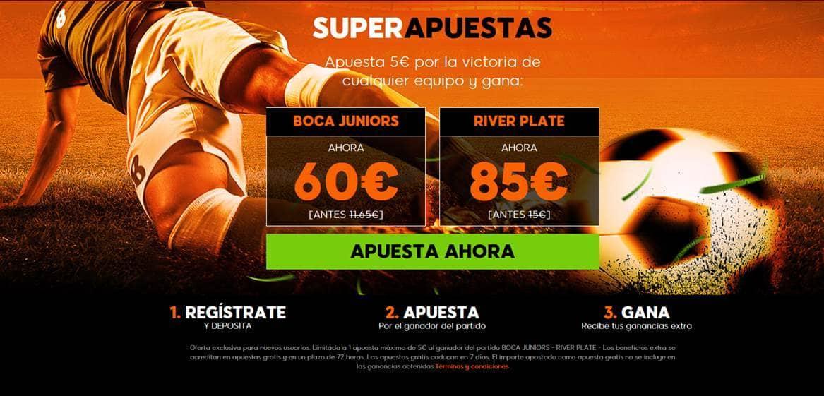Supercuotas 888sport Copa Libertadores Boca Juniors River Plate