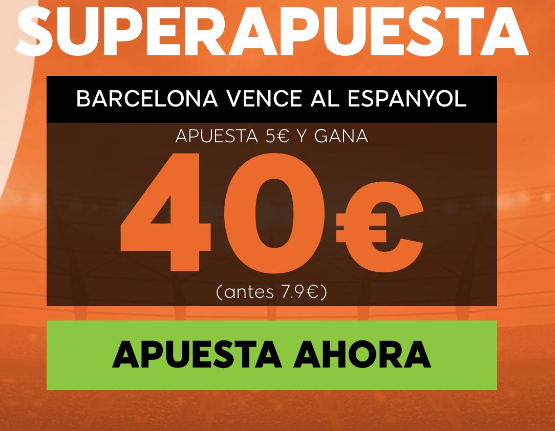 Supercuotas 888sport La Liga : Espanyol - FC Barcelona