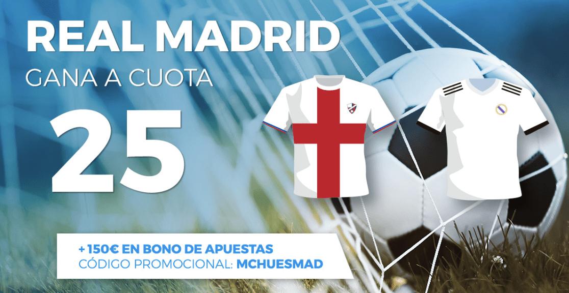 Supercuotas Pastón la Liga : Huesca - Real Madrid