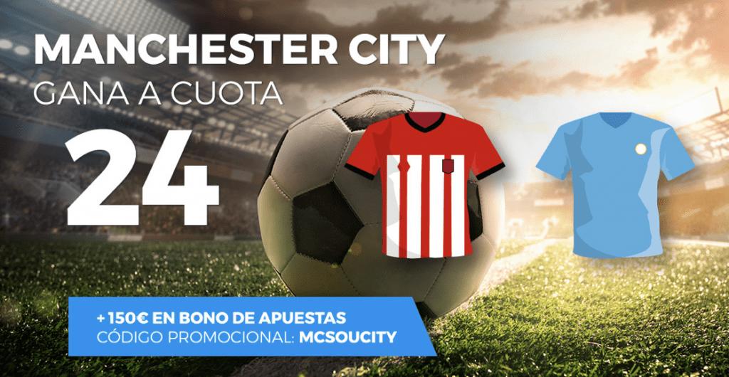 Supercuotas Pastón Premier Leagye Southampton - Manchester City