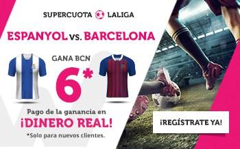 Supercuotas wanabet La Liga Espanyol - FC Barcelona