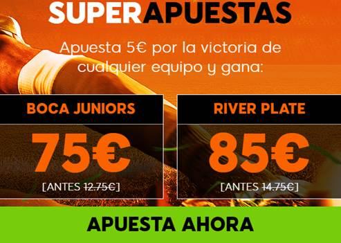 Supercuotas 888sport Final Copa Libertadores Boca Juniors - River Plate
