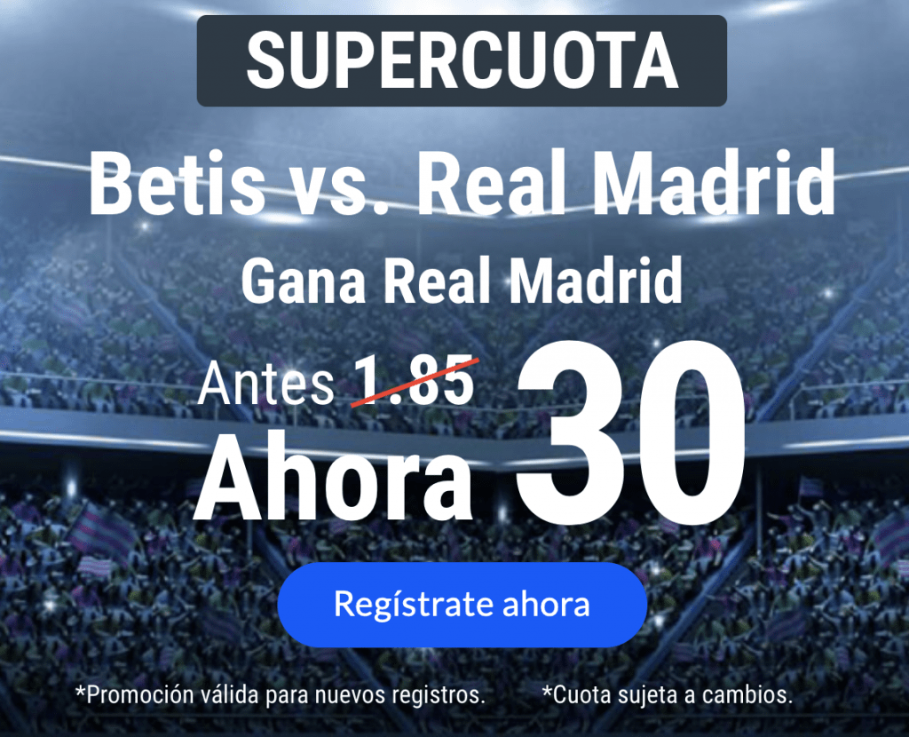 Supercuota Codere Real Madrid