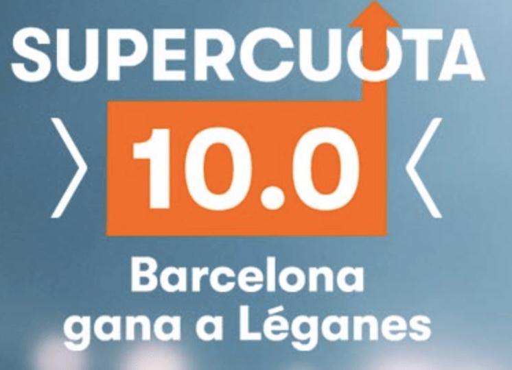 Supercuota Betsson FC Barcelona gana a Leganés