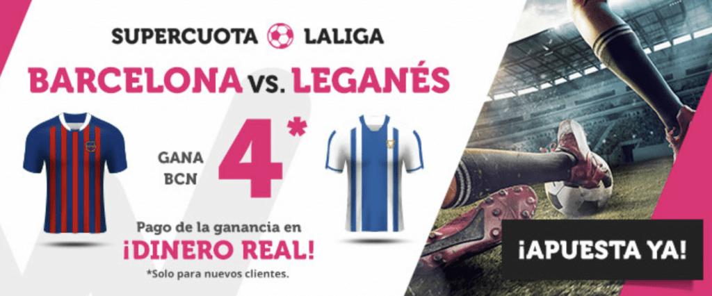 Supercuota Wanabet Liga Fc Barcelona gana a cuota 4.