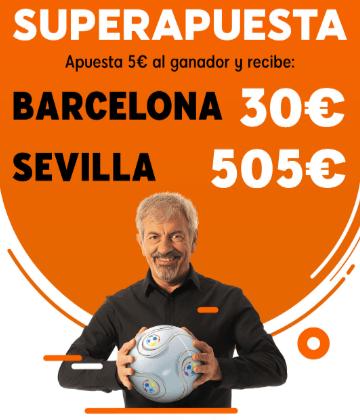 Superapuesta 888sport Barcelona - Sevilla