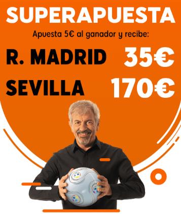 Superapuesta 888sport Real Madrid - Sevilla.