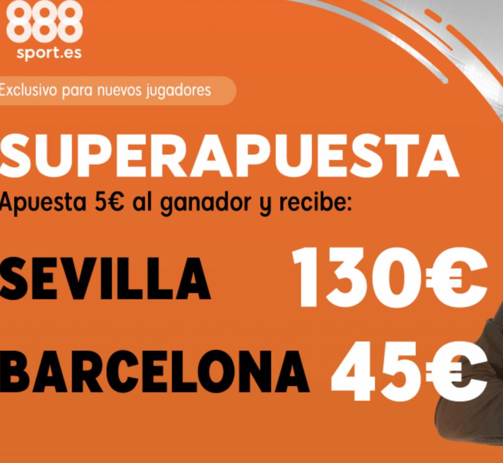 Supercuota 888sport La Liga Sevilla - FC Barcelona