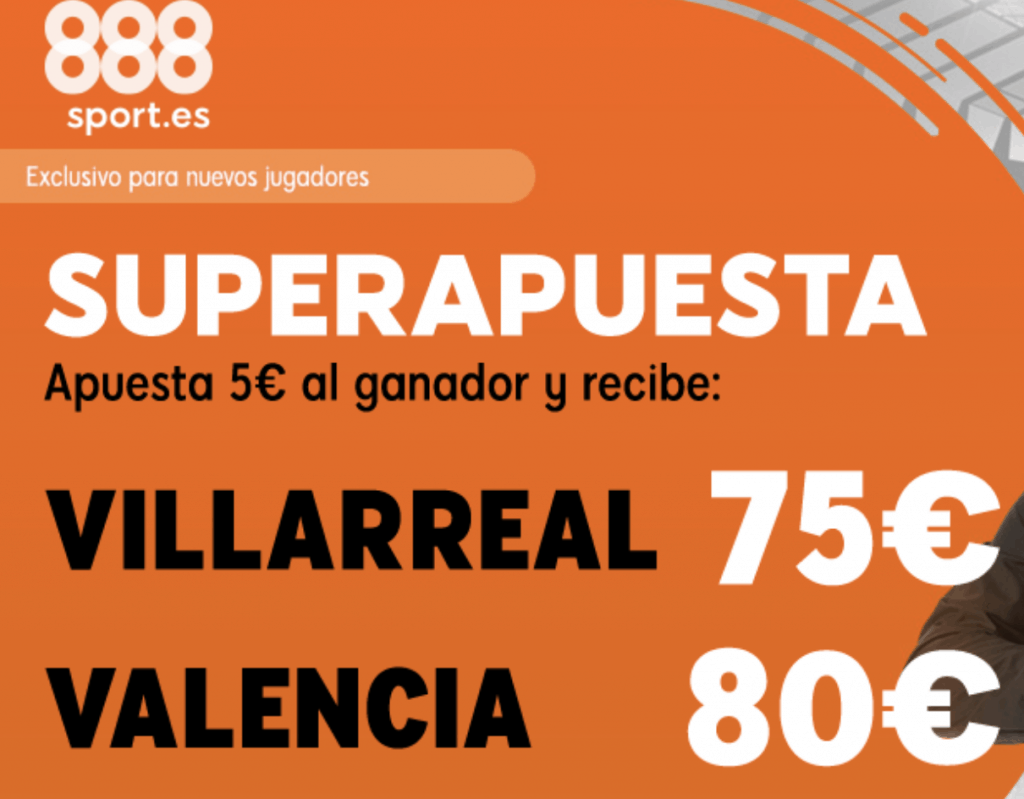 Supercuota 888sport Europa League : Villarreal - Valencia CF.