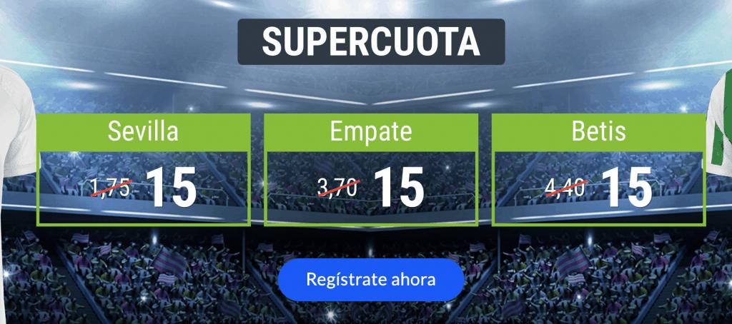 Supercuotas Codere Sevilla - Betis