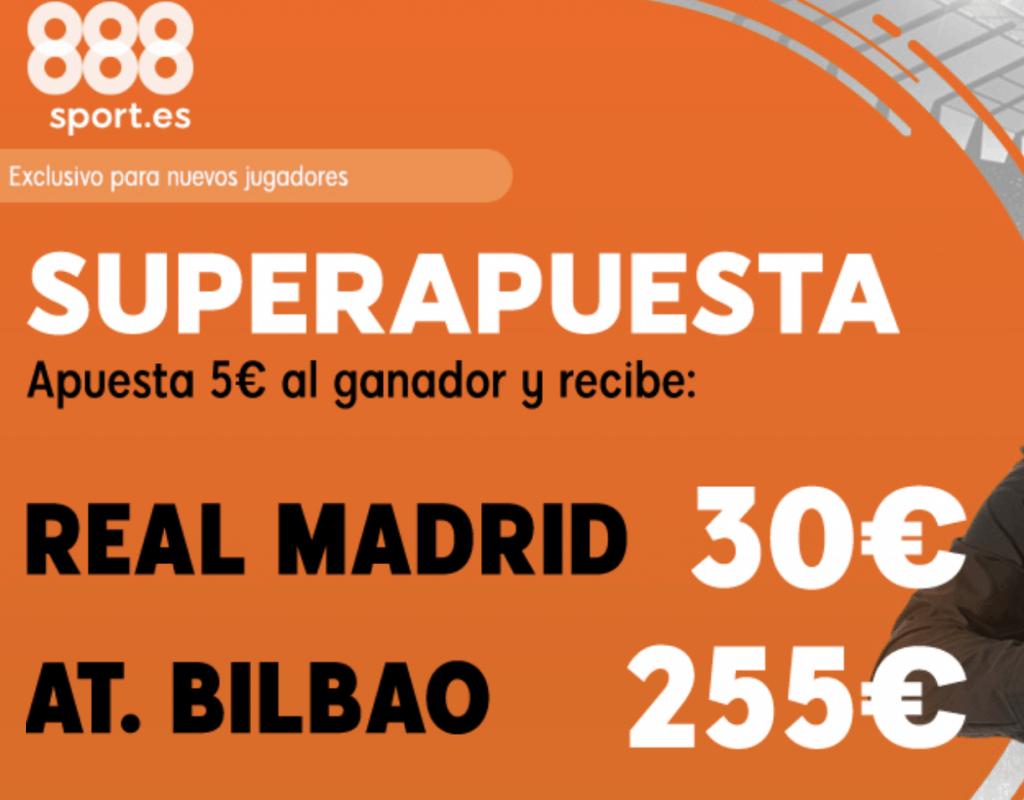 Supercuota 888sport Liga : Real Madrid - Athletic Bilbao.