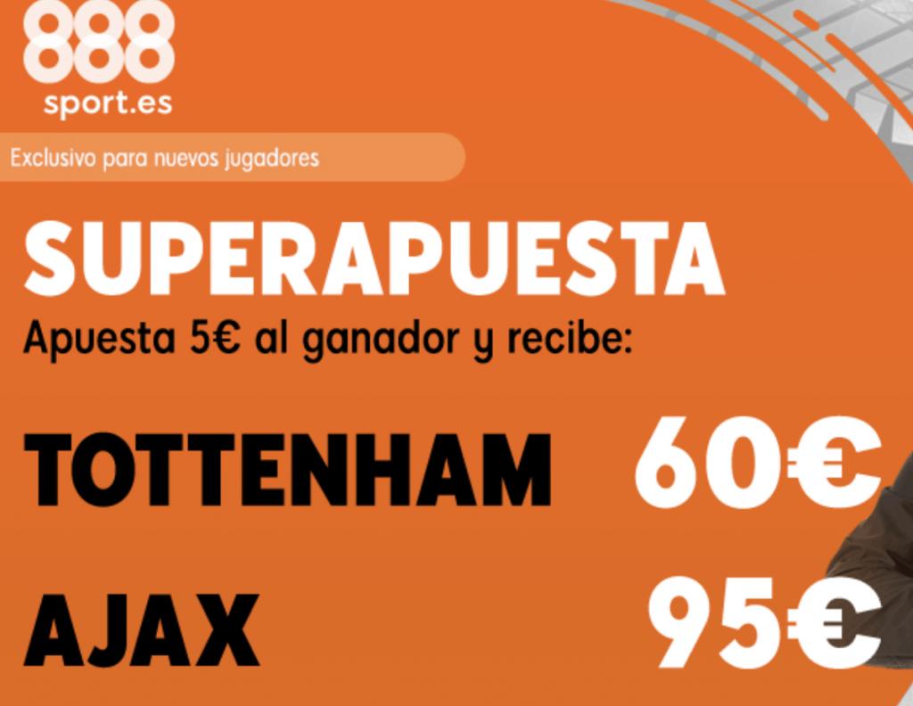 Supercuota 888sport Champions League : Tottenham - Ajax