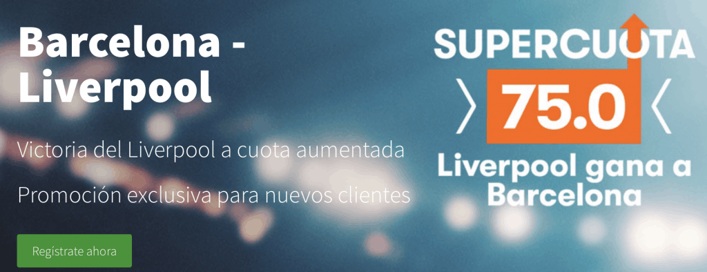 Supercuotas Betsson Champions League FC Barcelona -