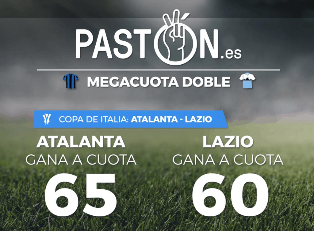 Supercuotas pastón final Copa de Italia Atalanta - Lazio.