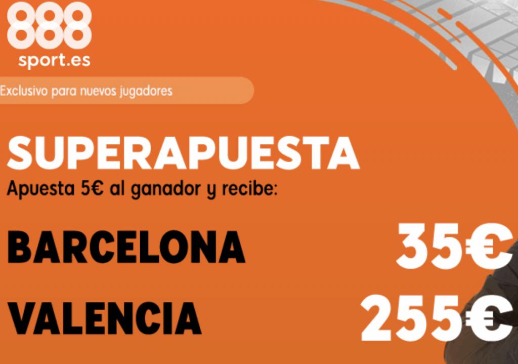 Supercuota 888sport Final Copa del Rey : FC Barcelona - Valencia CF.