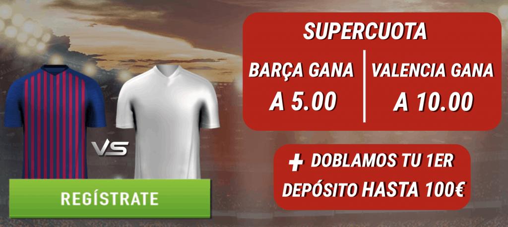 Supercuotas Sportium Final Copa del Rey : FC Barcelona - Valencia CF