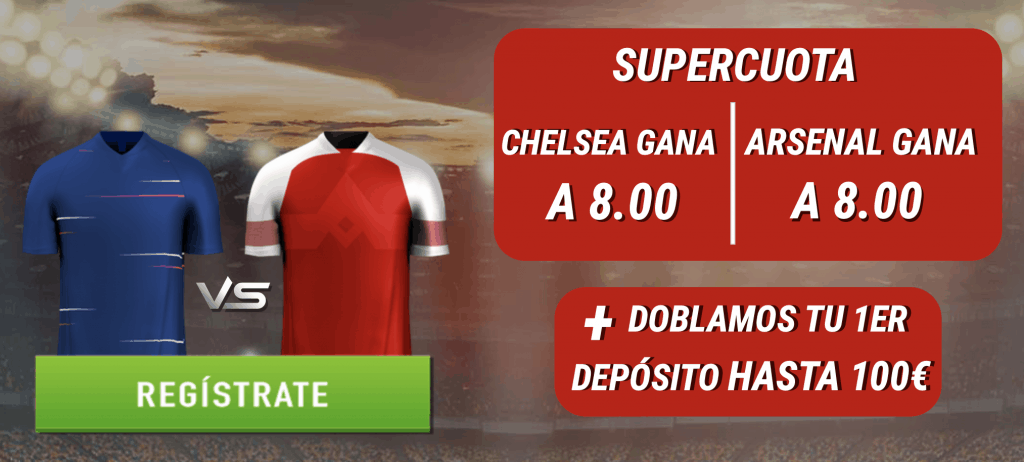 Supercuotas Sportium Final Europa League : Chelsea - Arsenal.