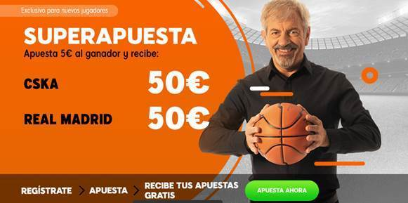 Supercuotas 888sport Euroleague Final Four : Real Madrid - CSKA.