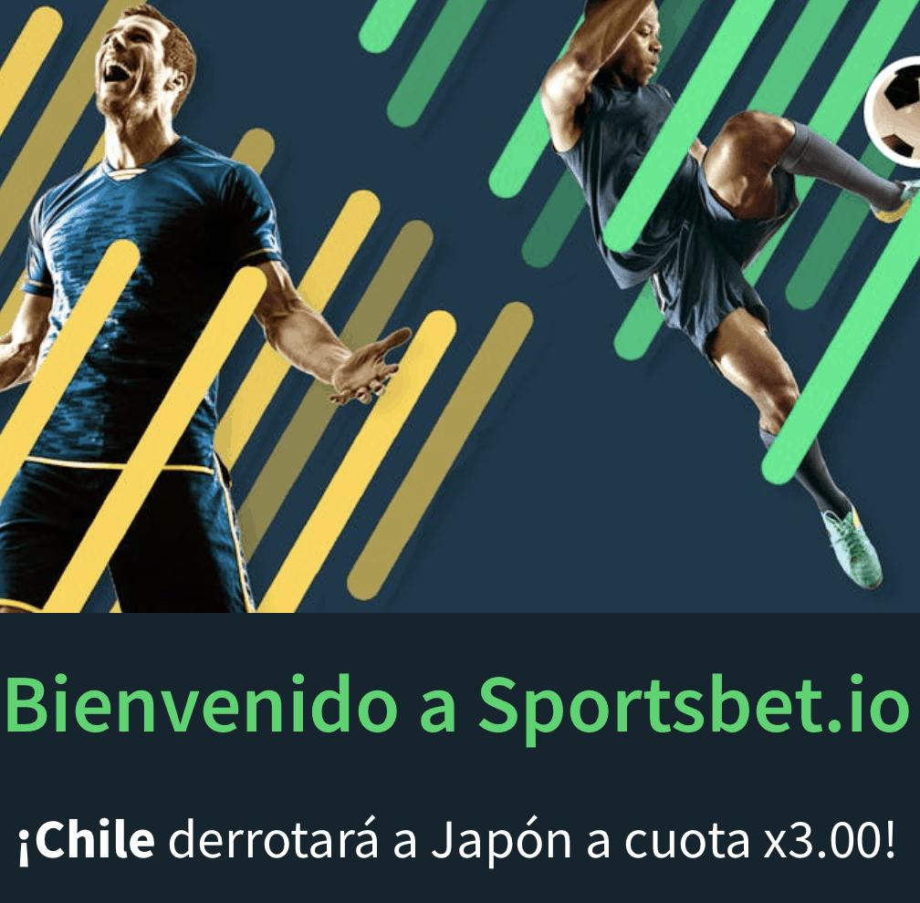 Supercuota Sportsbet.io Copa América: Chile - Japón.