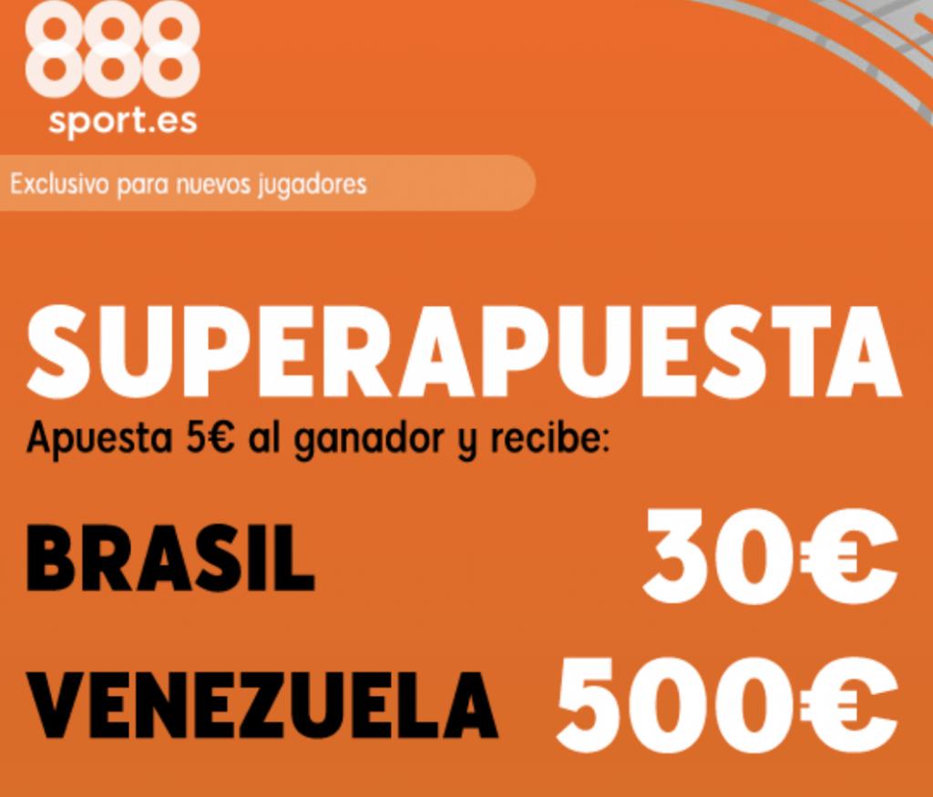 Superapuesta 888sport Copa América : Brasil - Venezuela