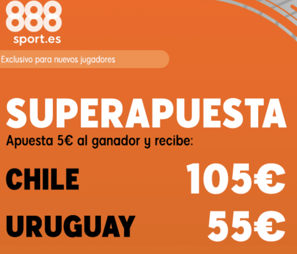 Superapuesta 888sport Copa América Chile - Uruguay.