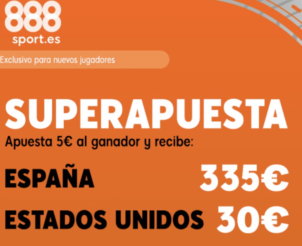 Superapuesta 888sport Mundial Femenino : España - USA.