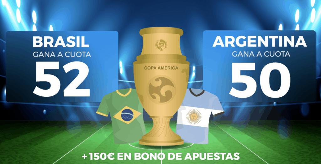 Supercuota Pastón Copa América : Brasil - Argentina.