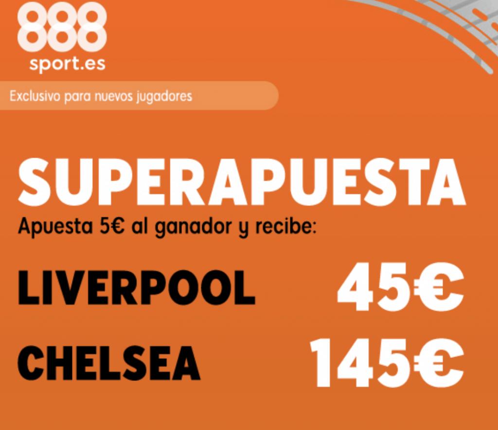 Superapuesta 888Sport Supercopa Europa Liverpool - Chelsea