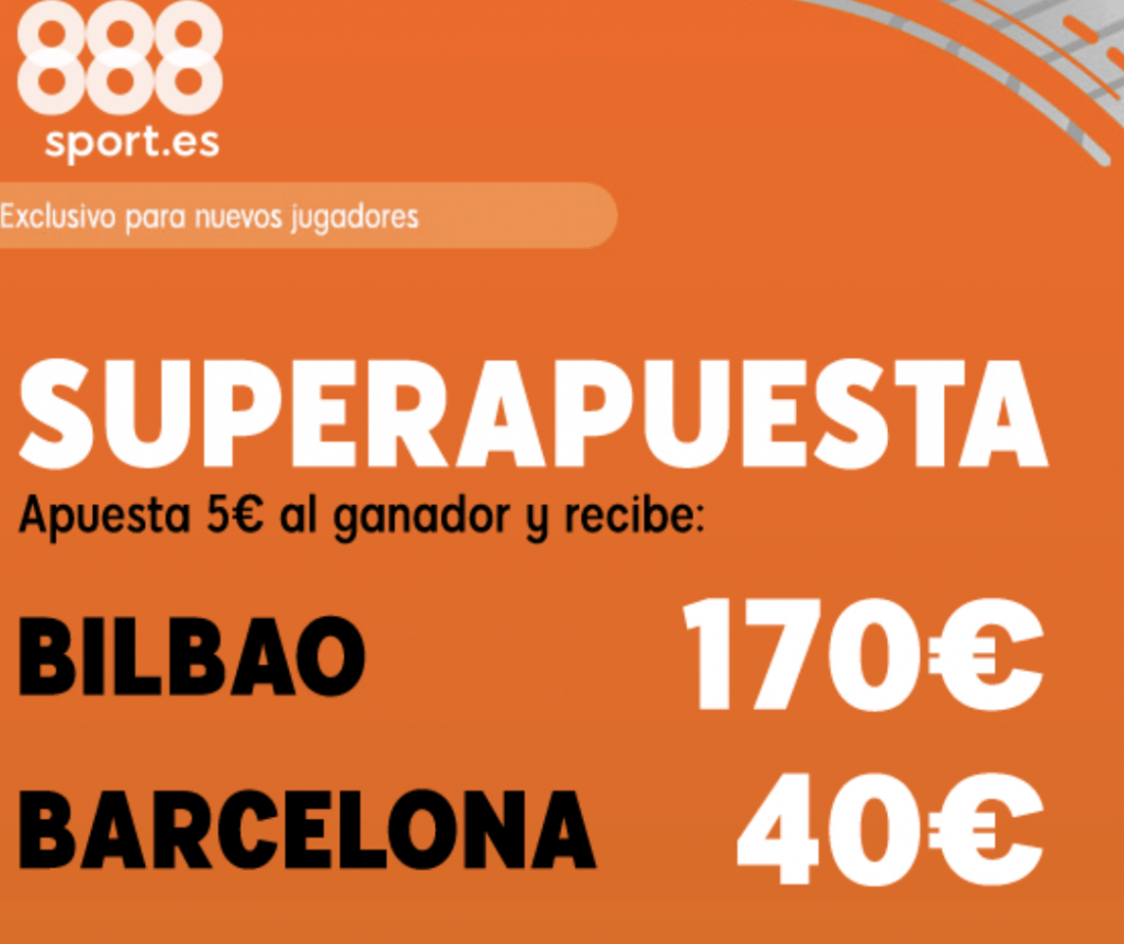 Superapuesta 888sport Athletic Bilbao - FC Barcelona.
