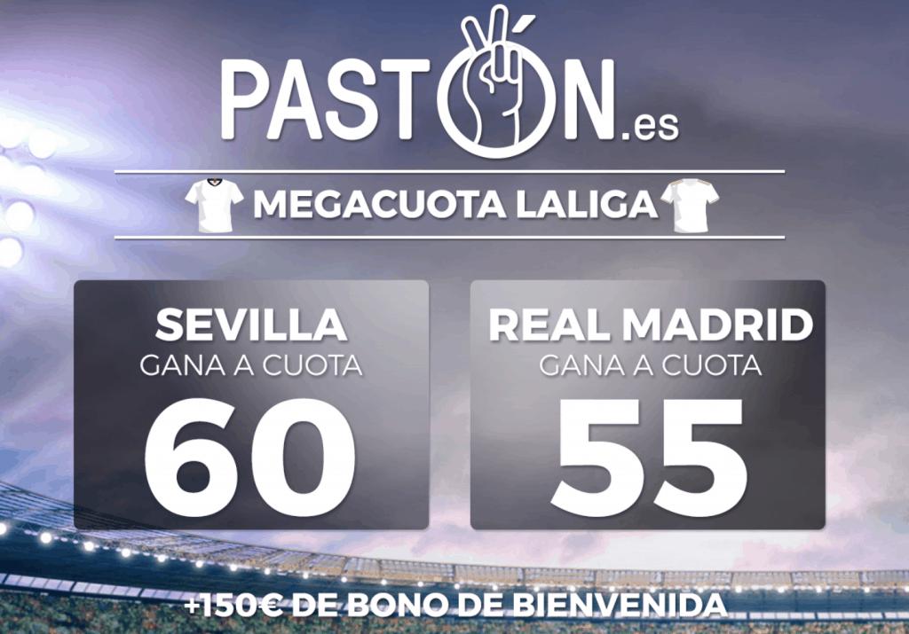 Supercuota pastón La Liga : Sevilla FC - Real Madrid.