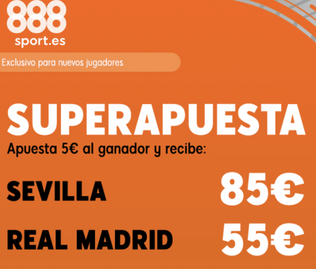 Superapuesta 888sport Sevilla FC - FC Barcelona.