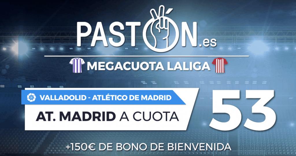 Supercuota Pastón La Liga : Real Madrid gana a Granada a cuota 53.
