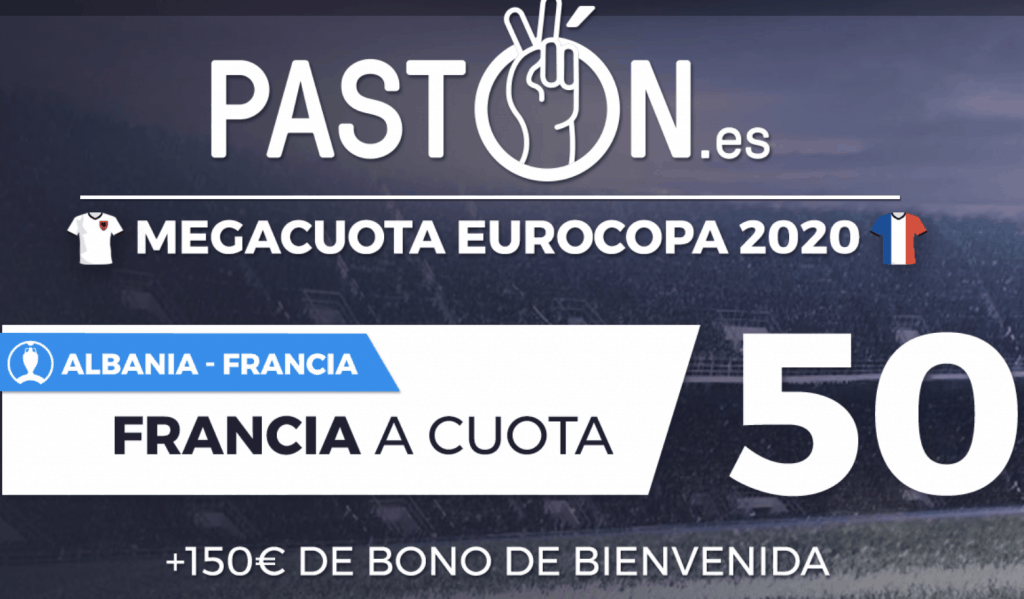 Supercuota pastón Francia gana a Albania a cuota 50.