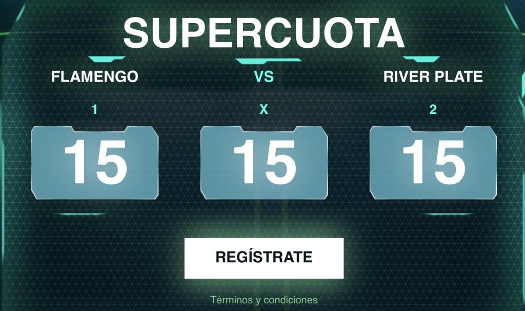 Supercuota Codere Final Copa Libertadores Flamengo - River Plate.