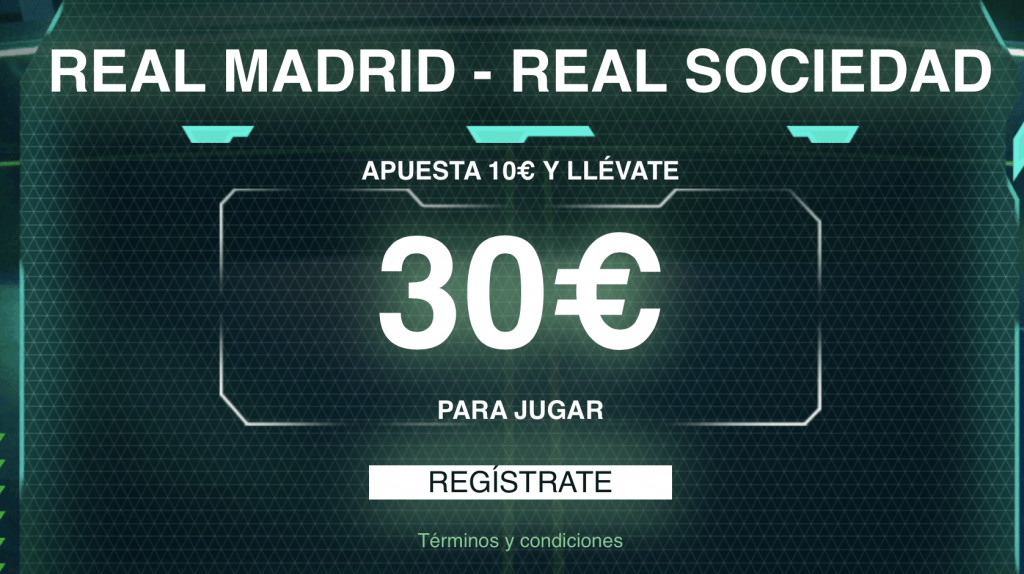 Supercuota Codere Real Madrid - Real Sociedad