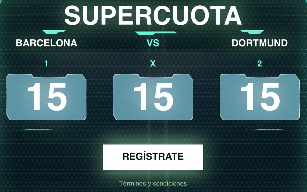Supercuota Codere Champions League