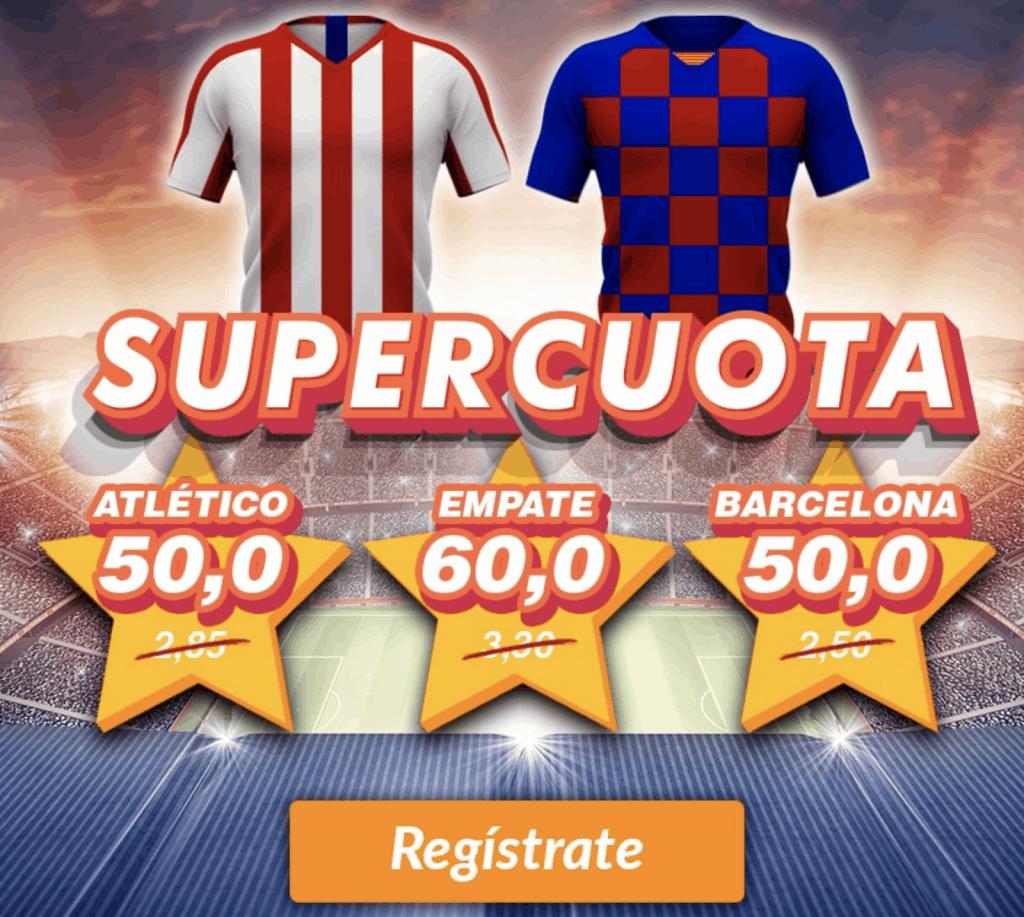 Supercuota Casino Barcelona Atlético de Madrid - FC Barcelona