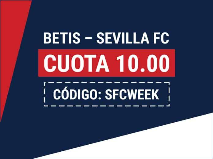 Supercuota Marathonbet : Real Betis - Sevilla FC.