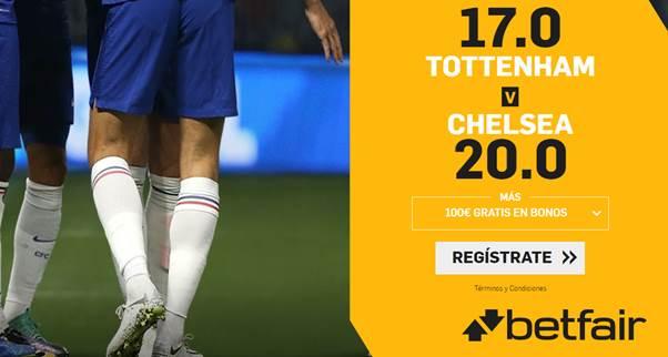 Supercuotas betfair Tottenham - Chelsea