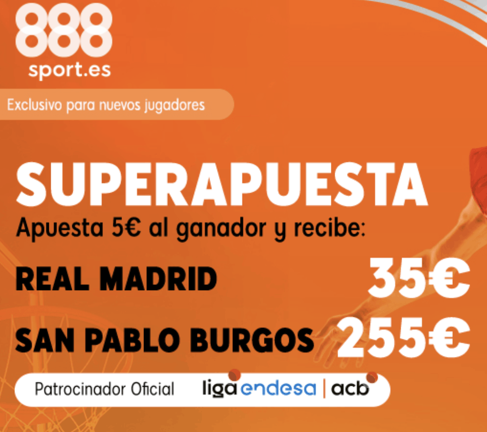 Superapuesta 888sport Real Madrid - Gran Canaria.