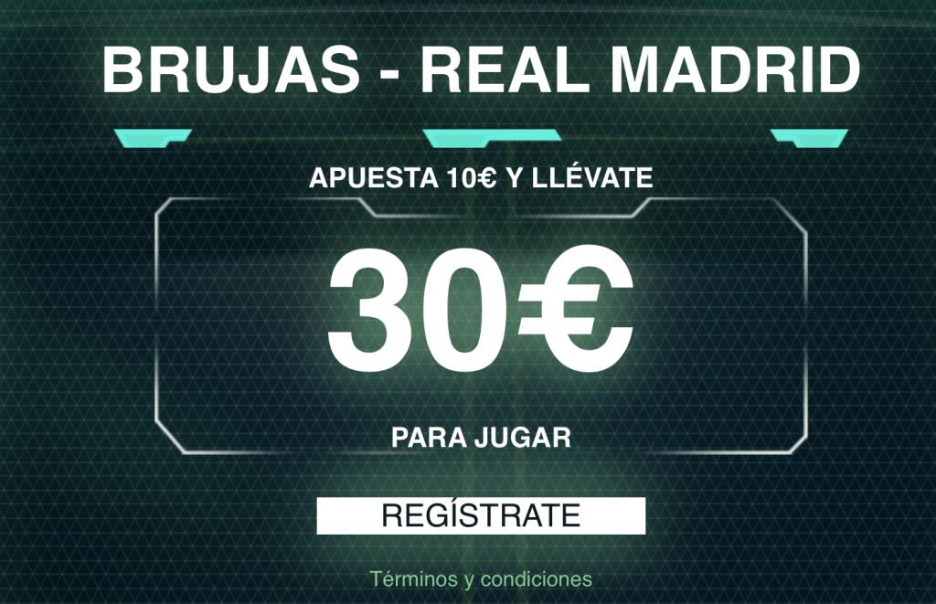 Supercuota Codere Champions League : Brujas - Real Madrid.