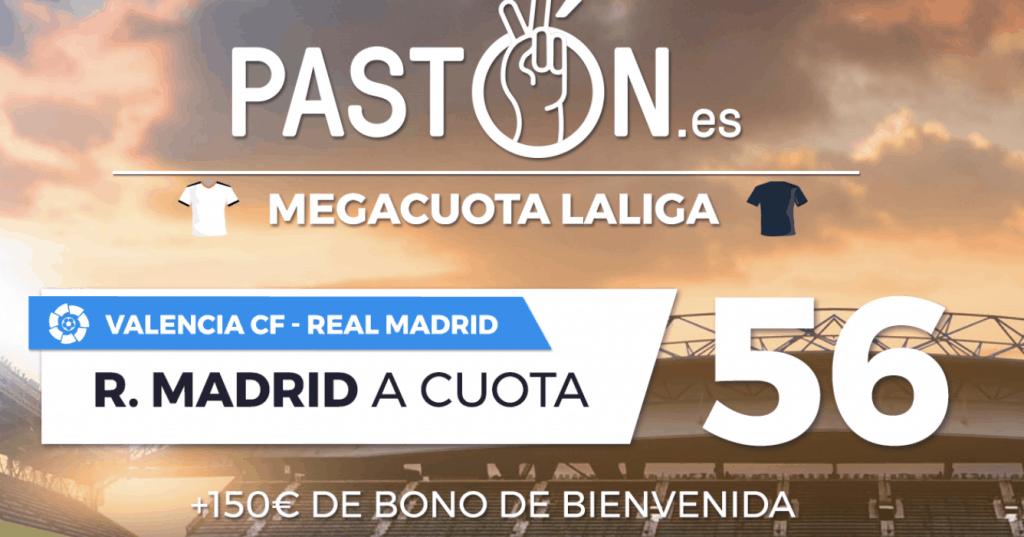 Supercuota pastón La Liga : Valencia CF - Real Madrid