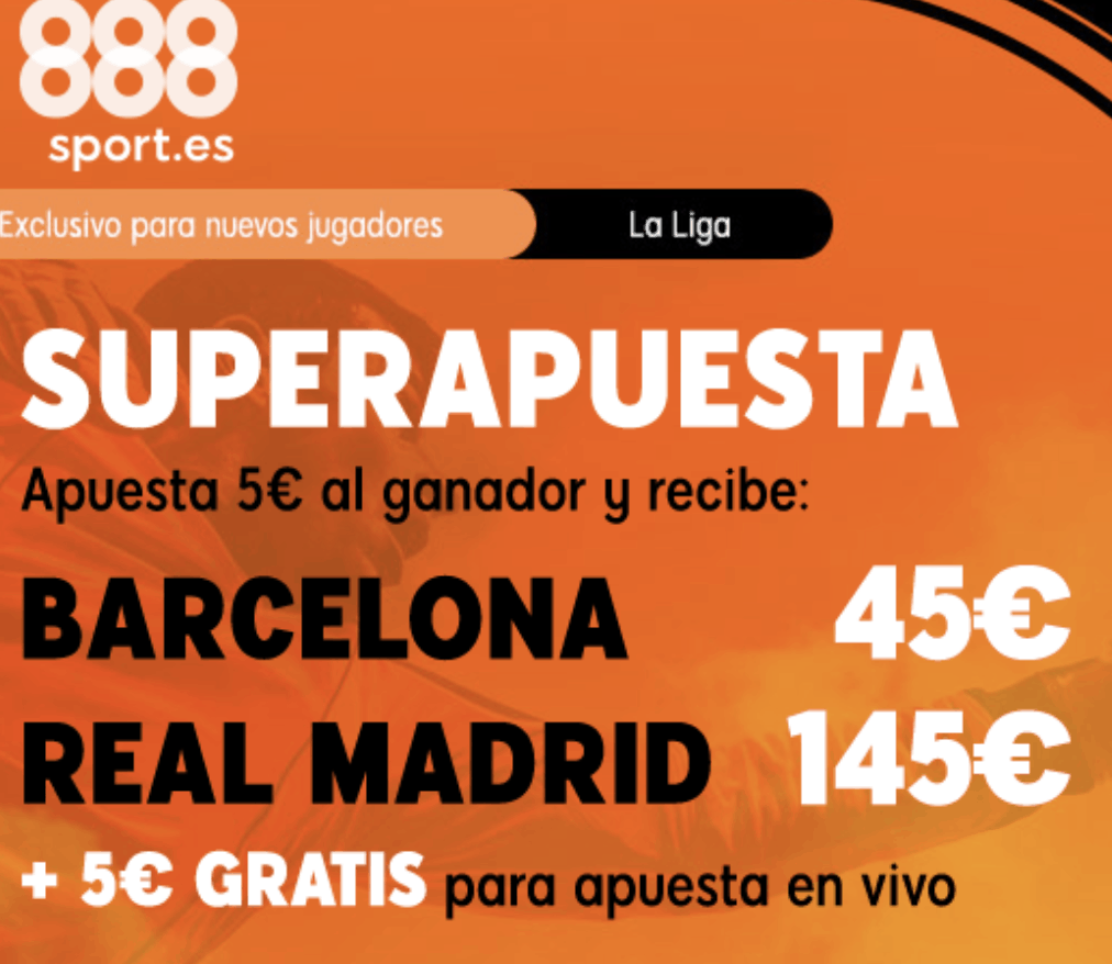 Supercuota 888sport Fc Barcelona - Real Madrid