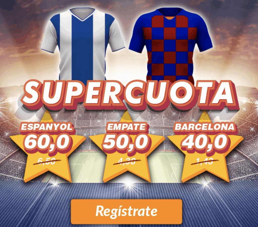 Supercuota Casino Barcelona Espanyol - Fc Barcelona