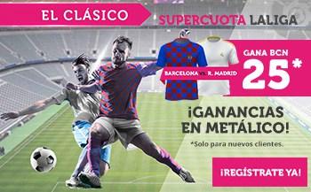 Supercuota Wanabet El Clásico Fc Barcelona - Real Madrid