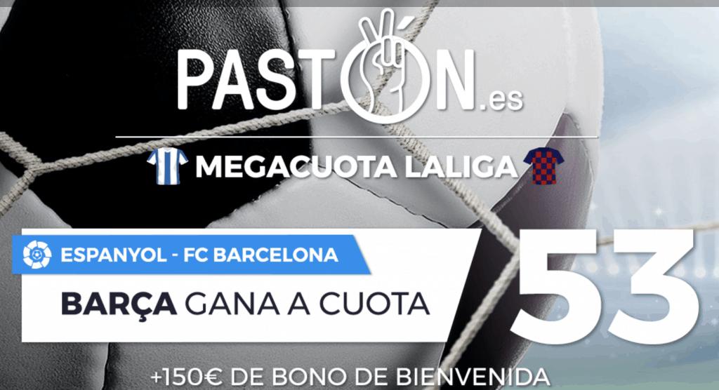 Supercuota pastón La Liga : Espanyol - FC Barcelona