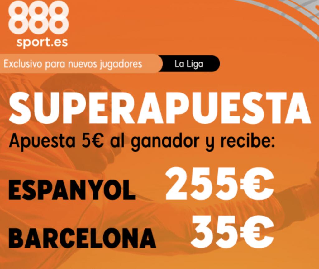 Superapuesta 888sport Espanyol - Fc Barcelona