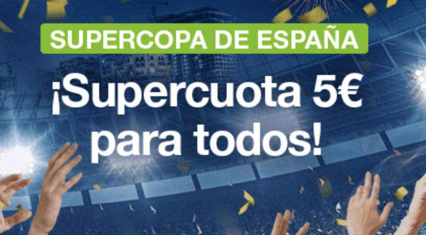 Supercuota Codere Supercopa de España Real Madrid - Atlético de Madrid