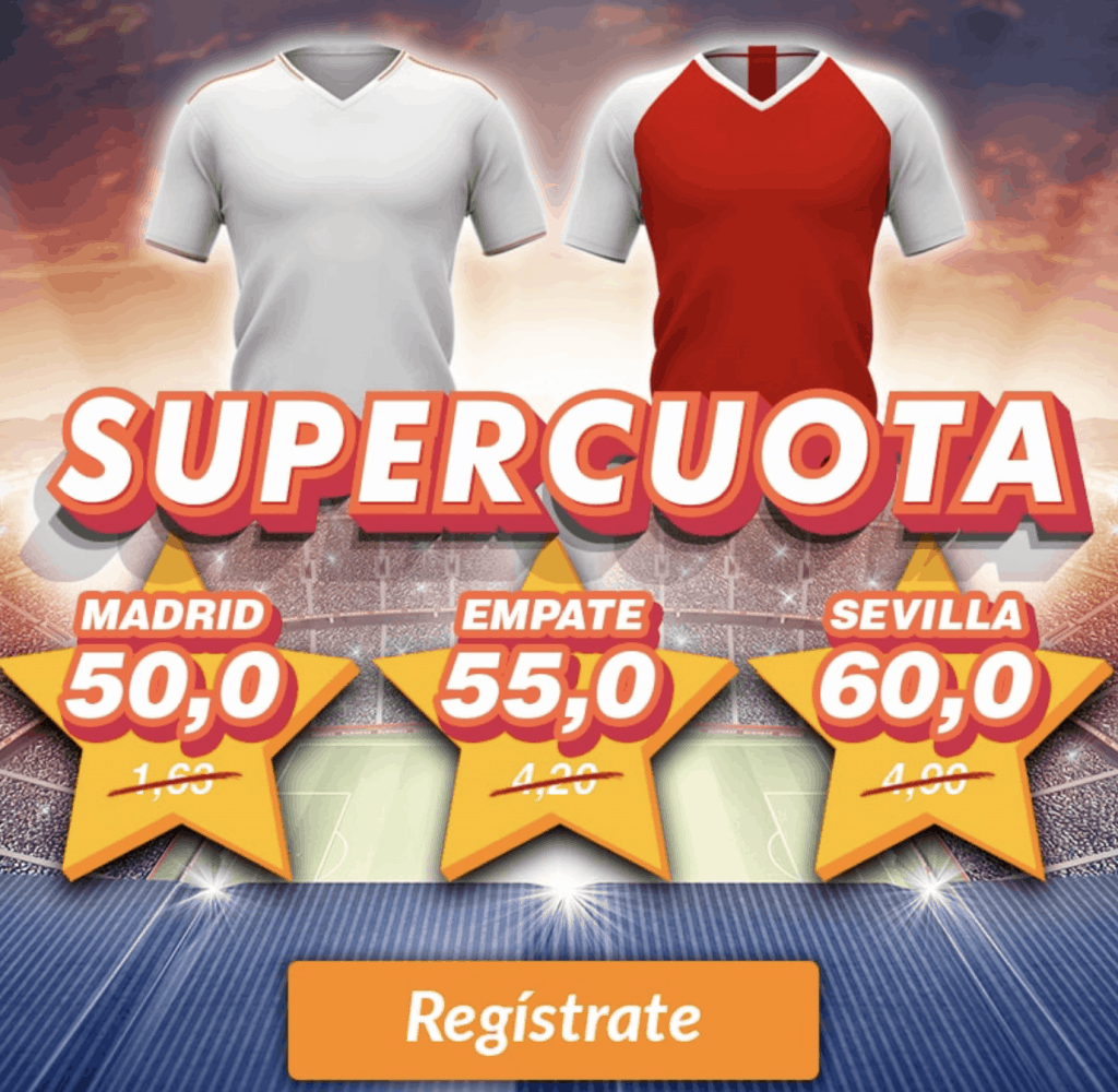 Supercuota Casino Barcelona La Liga : Real Madrid - Sevilla FC